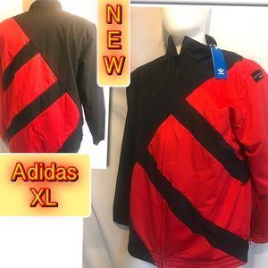 Adidas Men's Red/Black EQT Bold Track Jacket